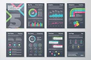 Infographic Brochure 5 Dark Version