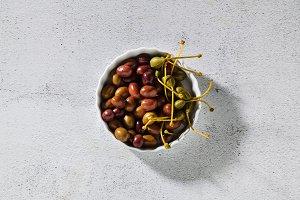 tasty fresh Italian olives from the