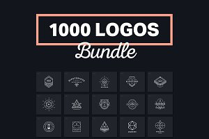 1000 Logos & Badges