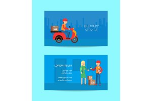 Vector delivery flat elements