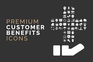 Costumer Benefits Icons