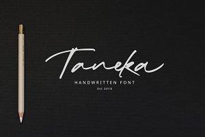 Taneka Handwritten - 70% OFF
