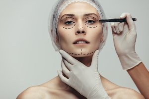 Anti-aging treatment and face lift