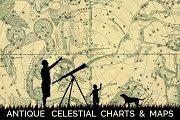 Antique Celestial Charts & Maps
