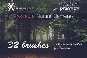 Procreate Nature Elements