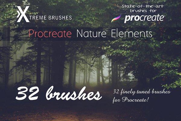 Procreate Nature Elements