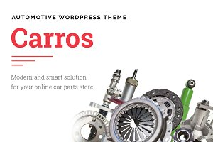 Carros — Car Parts WordPressTheme