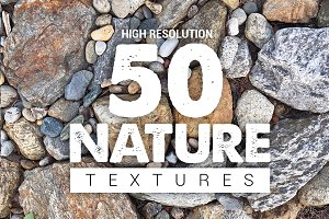 Bundle Nature Textures x50