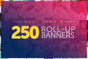 UNIK 250 Roll Up Banners Bundle
