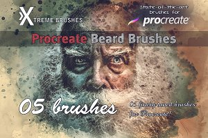 Procreate Beard Brushes