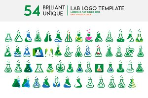 Briliant lab logo set