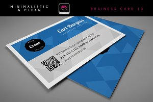 Clean Business Card Template 07
