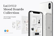 Laconica Mood Boards Collection by  in Web Elements