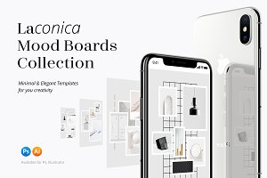 Laconica Mood Boards Collection -30%