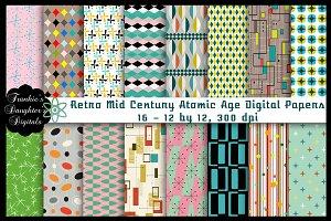 Retro Mid Century Atomic Age