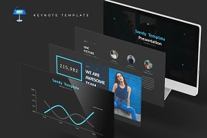 Sandy - Keynote Template