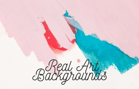 21 Real Art Backgrounds/Textures