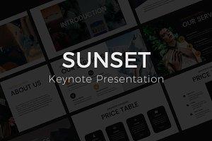 Sunset Keynote Template