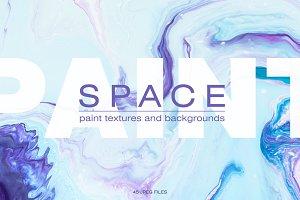 Space paint textures