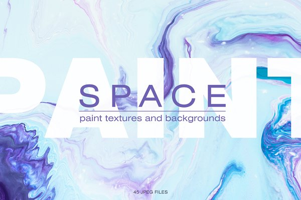 Textures: NKate - Space paint textures