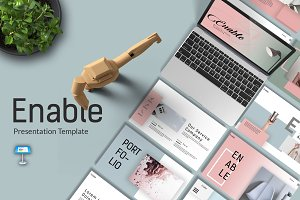 Enable Keynote Template