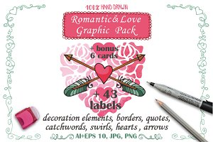Love,Romantic decoration pack 01