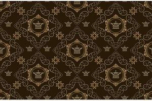 Dark Chinese Pattern