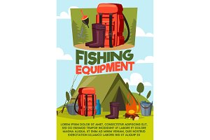 Fishing sport equipment and items
