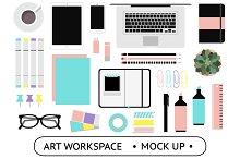 Art Workspace Mockups