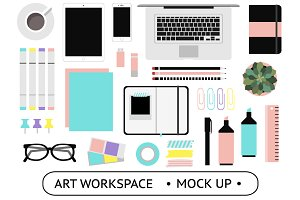 Art Workspace Mockups