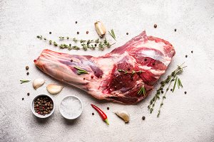 Image result for raw lamb shank