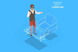 Augmented reality, virtual furniture