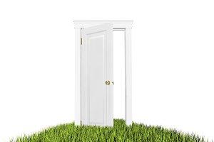 Open door to the new world