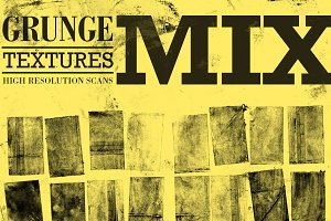 Ink Press Grunge Textures Mix