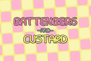 Battenberg and Custard