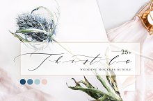THISTLE BLUE. MOCKUPS BUNDLE. by  in Product Mockups
