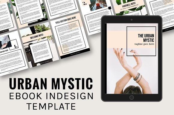 Urban Mystic Ebook InDesign Template