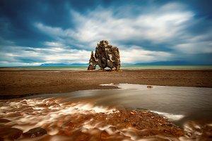 Hvitserkur rock in Iceland