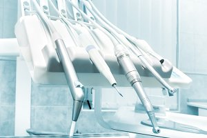 Dental drills, instruments and tools