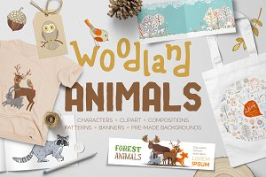 Woodland Animals Pack