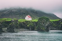Lonely icelandic house by  in Nature