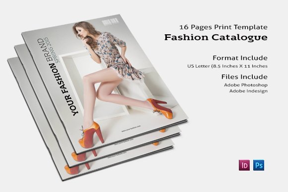 Fashion Brochure Template Brochure Templates Creative Market