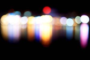 Holiday blur lights