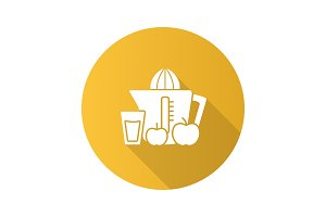 Juicer glyph icon