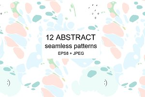 Art seamless patterns