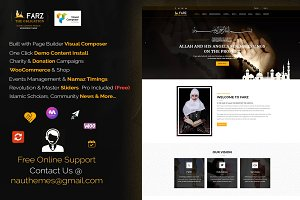 Islamic WordPress Theme - Farz