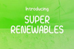 Super Renewables