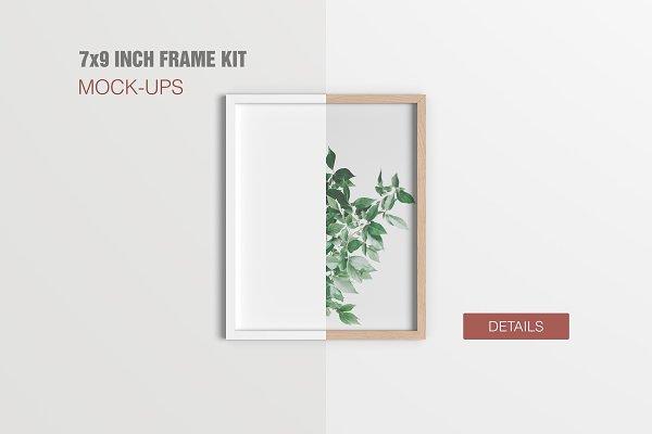 7x9 Inch Frame Mockup Kit
