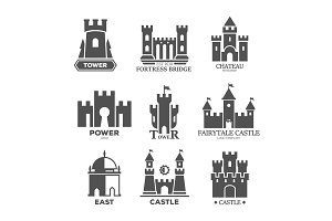 Castle or fortress parts