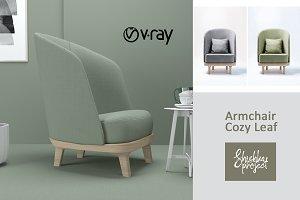 Armchair Cozy Leaf